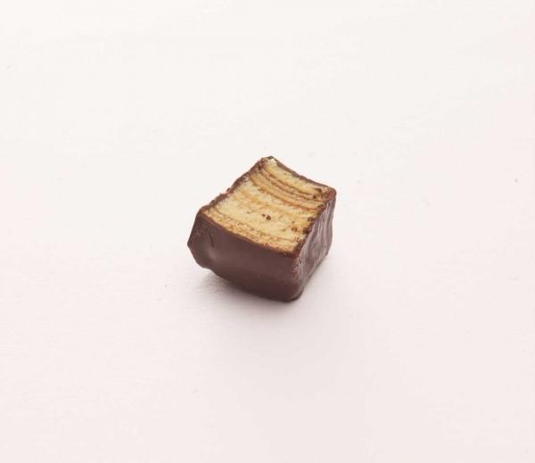 Baumkuchenspitzen mit Zartbitterschokolade 125g