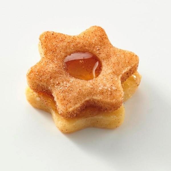 Butter-Apfel-Sterne